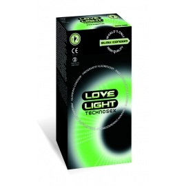 LOVE LIGHT GLOW CONDOM 12 PCS PACK