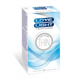 LOVE LIGHT XTRA SUPER THIN 12 PCS PACK