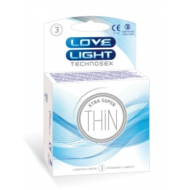 LOVE LIGHT XTRA SUPER THIN 3 PCS PACK